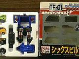 Transformers TF-01: Sixbuilder Generation 1 (Takara)