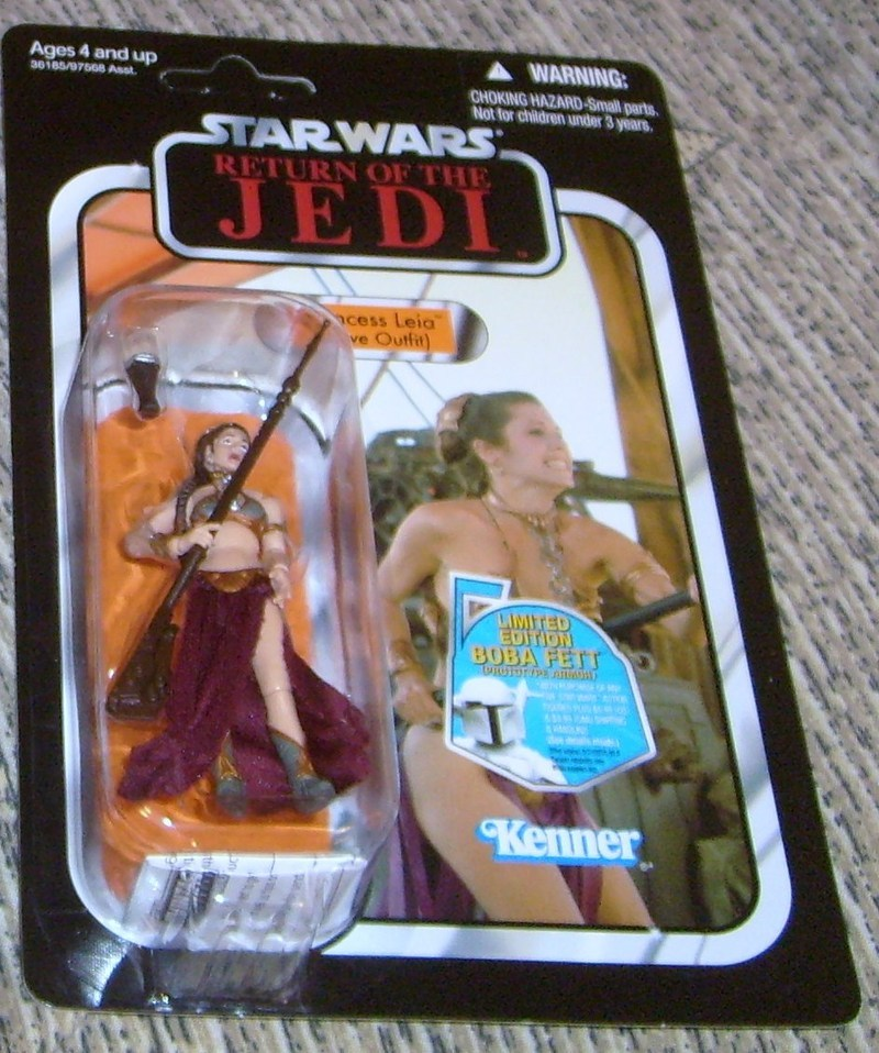 Star Wars Princess Leia - Slave Outfit Legacy Collection