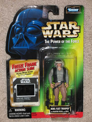 Star Wars Rebel Fleet Trooper Power of the Force (POTF2) (1995)
