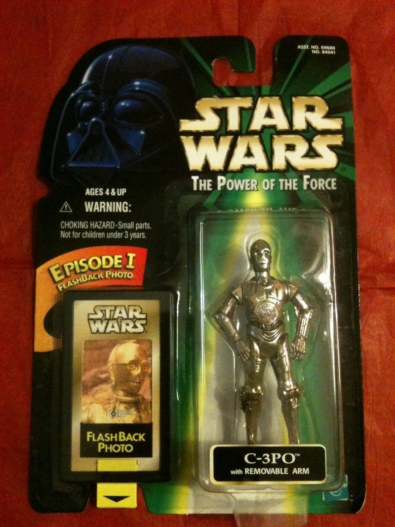 Star Wars C-3PO with Removable Arm Power of the Force (POTF2) (1995)