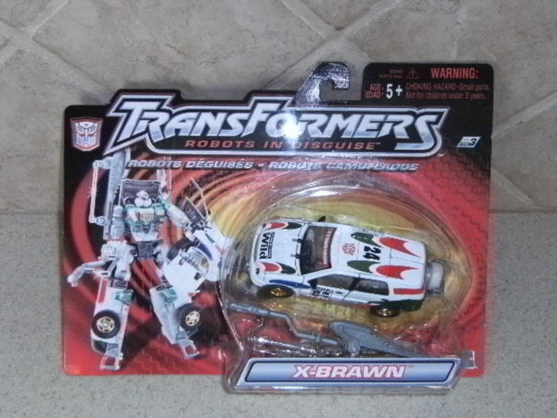 Transformers X-Brawn (White) Robots In Disguise