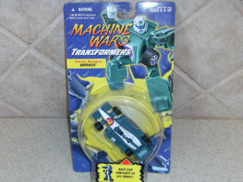 Transformers Mirage Machine Wars