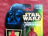 Star Wars Emperor's Royal Guard with Force Pike Power of the Force (POTF2) (1995) image 0