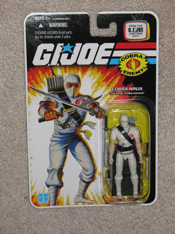 G.I. Joe Storm Shadow 25th Anniversary