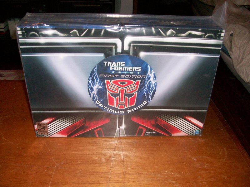 Transformers Transformers Prime Optimus Prime First Edition Figure SDCC Exclusive