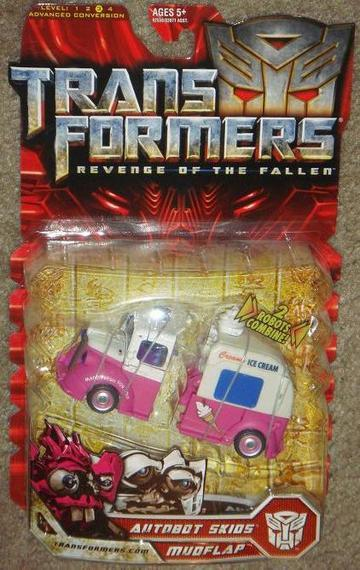 Transformers Autobot Skids &amp; Mudflap Transformers Movie Universe