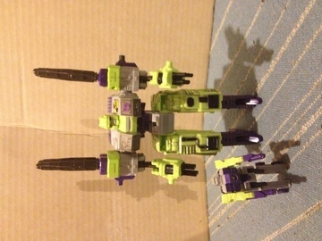 Transformers Demolisher w/ Blackout Unicron Trilogy
