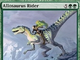 Magic The Gathering Allosaurus Rider Ice Age