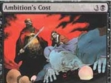 Magic The Gathering Ambition's Cost Core Editions