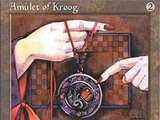 Magic The Gathering Amulet of Kroog Core Editions