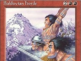 Magic The Gathering Balduvian Horde Ice Age
