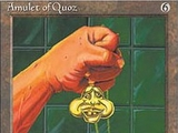 Magic The Gathering Amulet of Quoz Ice Age