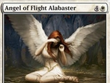 Magic The Gathering Angel of Flight Alabaster Innistrad