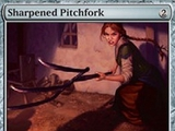 Magic The Gathering Sharpened Pitchfork Innistrad