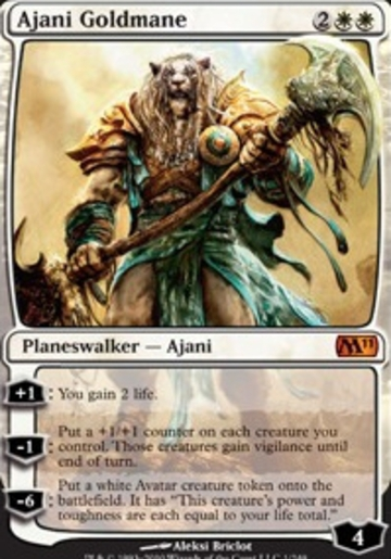 Magic The Gathering Ajani Goldmane Core Editions
