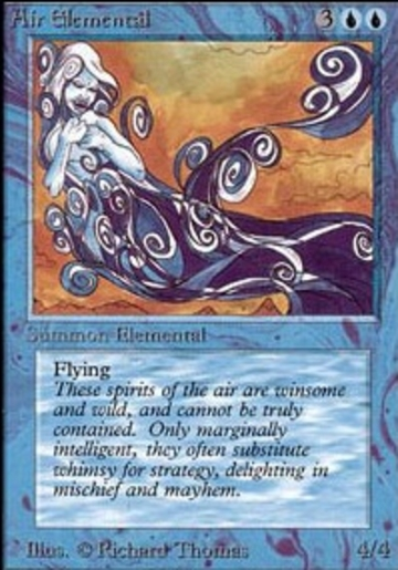 Magic The Gathering Air Elemental Online Only