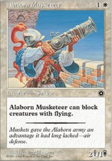Magic The Gathering Alaborn Musketeer Online Only