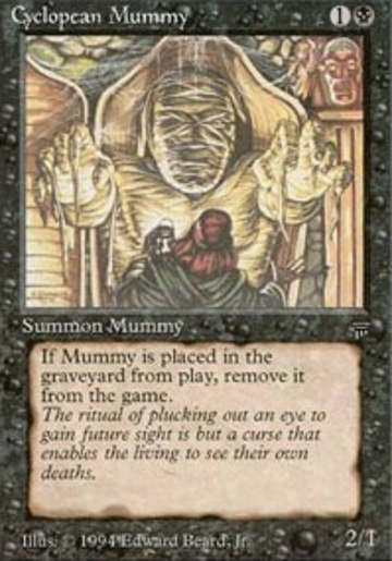 Magic The Gathering Cyclopean Mummy Online Only