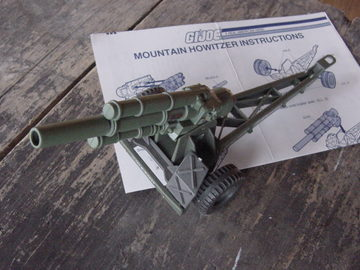 G.I. Joe Mountain Howitzer Classic Collection