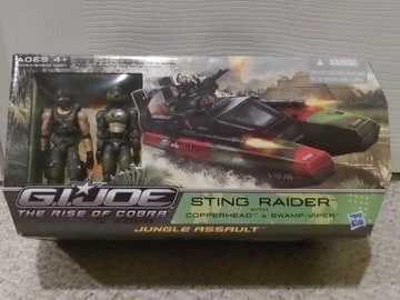 G.I. Joe Sting Raider with Copperhead &amp; Swamp-Viper Rise of Cobra