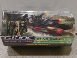 G.I. Joe Sting Raider with Copperhead & Swamp-Viper Rise of Cobra