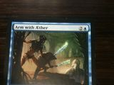Magic The Gathering Arm with Æther Scars of Mirrodin