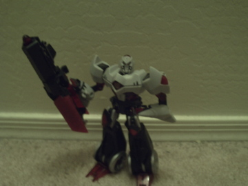 Transformers Cybertron Mode Megatron Animated