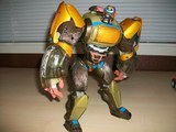 Transformers Air Attack Optimus Primal Car Robots