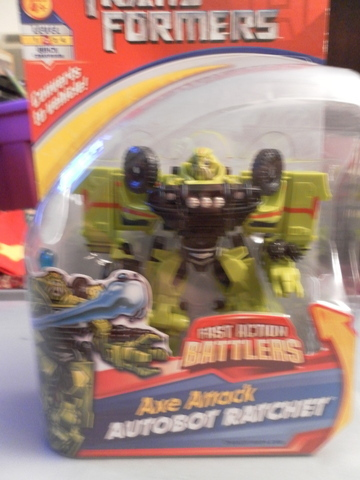 Transformers Axe Attack Autobot Ratchet Transformers Movie Universe