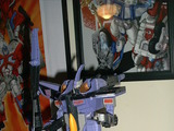 Transformers Skywarp w/ Thunderclash Unicron Trilogy