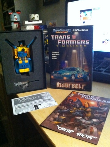 Transformers Nightbeat BotCon Exclusive