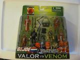 G.I. Joe Ninja Cobra Strike Force Valor Vs. Venom