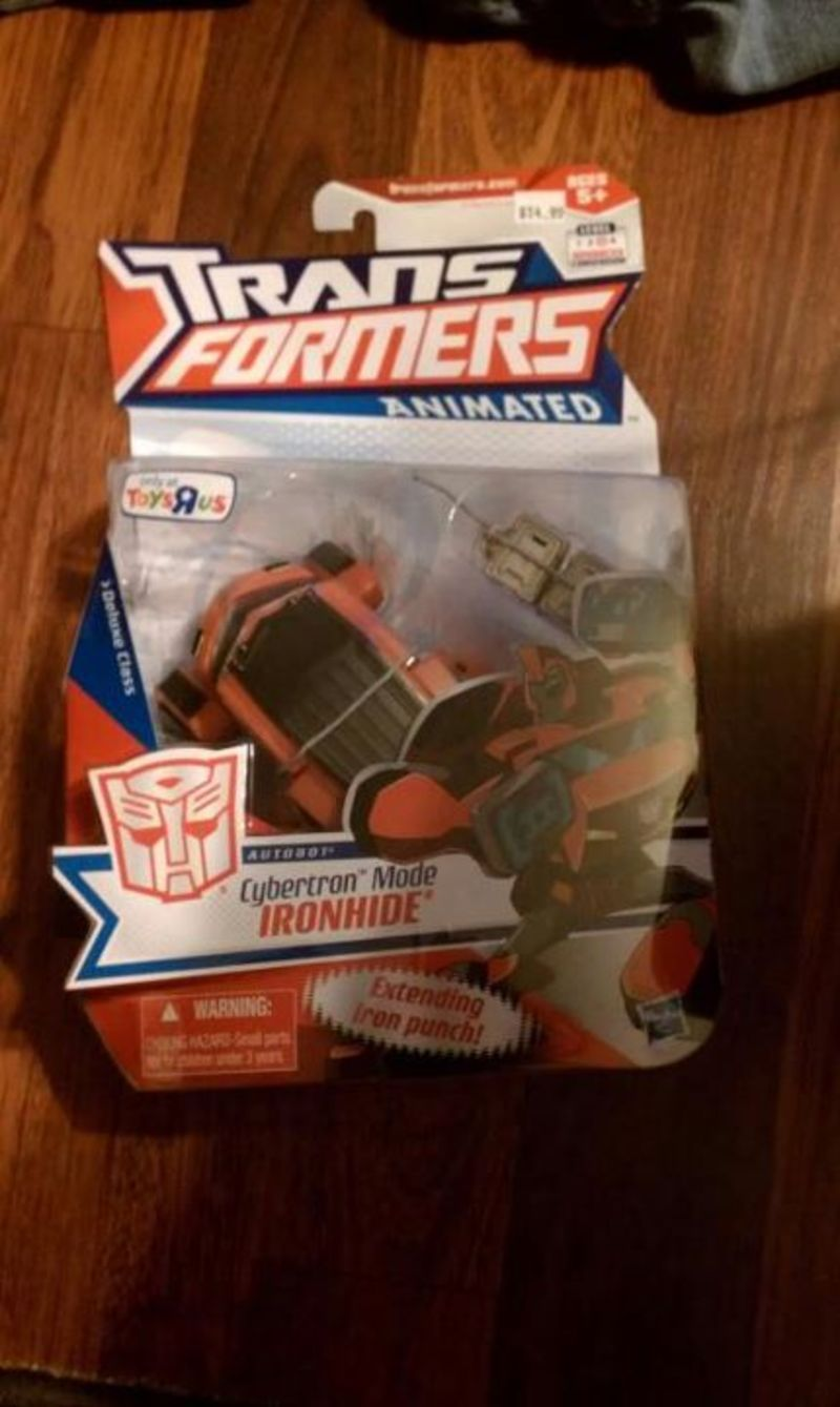 Transformers Ironhide Animated