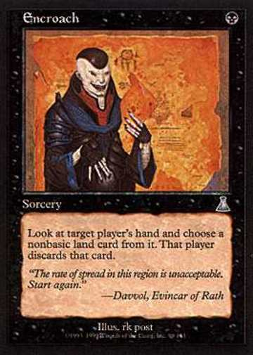 Magic The Gathering Encroach Urza
