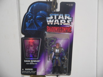 Star Wars Dash Rendar with Heavy Weapons Pack Other Series