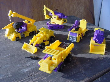 Transformers Devastator Generation 2