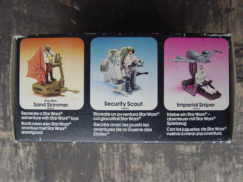 Star Wars One-Man Sand Skimmer Vehicle Vintage Figures (pre-1997)