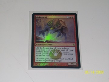 Magic The Gathering Galvanoth Scars of Mirrodin