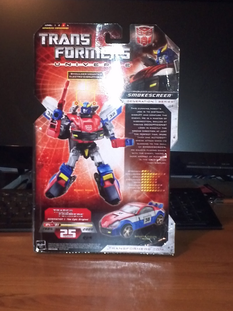 Transformers Smokescreen Classics Series