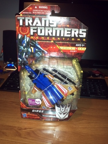 Transformers Dirge Classics Series