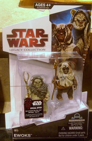 Star Wars Ewoks - Paploo and NoAhpakk Legacy Collection