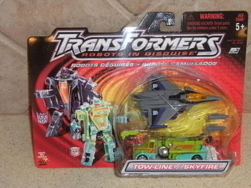 Transformers Tow-Line w/ Skyfire Robots In Disguise