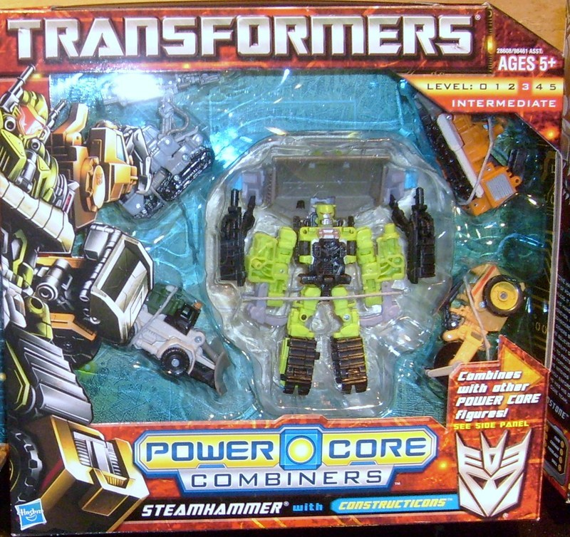 Transformers Steamhammer (Constructicons 5-Pack) Power Core Combiners