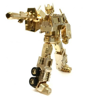 Transformers MP-01: Convoy (Gold Version) Generation 1 (Takara)