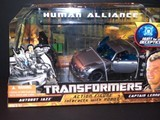 Transformers Jazz &amp; Captain Lennox Transformers Movie Universe thumbnail 0