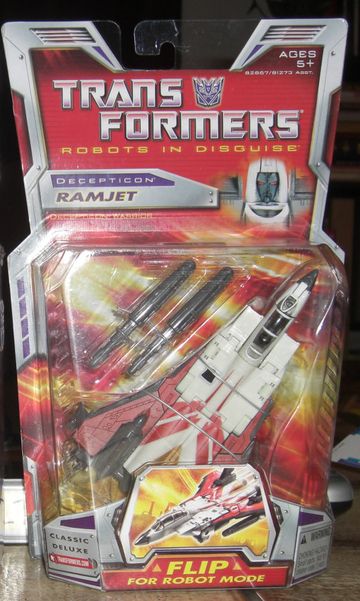 Transformers Ramjet Classics Series