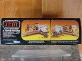 Star Wars Battle Damaged X-Wing Fighter Vintage Figures (pre-1997)