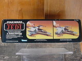Star Wars Battle Damaged X-Wing Fighter Vintage Figures (pre-1997) thumbnail 3