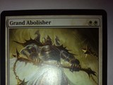 Magic The Gathering Grand Abolisher Core Editions image 0