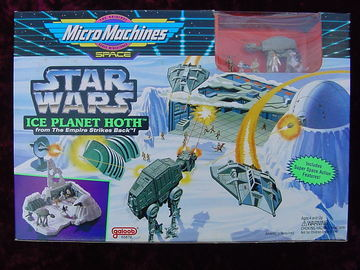 Star Wars Ice Planet Hoth Micro Machines